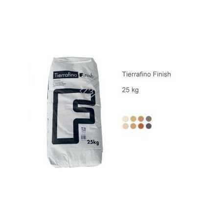 ENDUIT TERRAFINO, Blanc de Douvres (sac de 25kg)