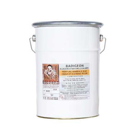 Badigeon à l'huile de lin prêt à l'emploi