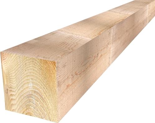 Poutre En Bois chevrons bois de chartreuse brut sec 60x80mm - label energie drive