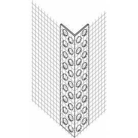 Cornière d'angle PVC entoilées