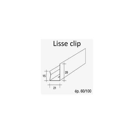 lisse clip pour fourrure m tallique label energie drive. Black Bedroom Furniture Sets. Home Design Ideas