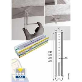 Raccord pour fourrure label energie drive - Poser des plaques de placo au plafond ...