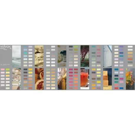 """Nuancier Peinture à l'Argile VOLVOX """"color chart"""""""