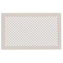 Grille design zehnder Pisa, blanc