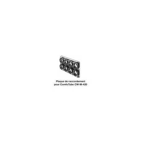 Plaque de raccordement 4x75 - 4x90 pour caisson silencieux CW-S-420 ou CW-D-420